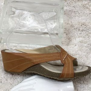Patrizia by Spring Step wedge sandals